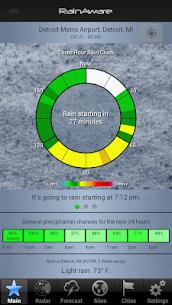Free RainAware Weather Timer 1