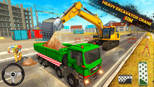 Heavy Excavator Simulator:Crane Construction Games 2.8 screenshots 2