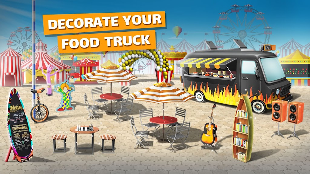 Cooking Games: Food Truck Chef My Cafe Restaurant poster 5
