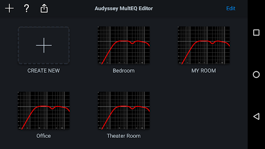 Audyssey MultEQ Editor app Apk Download 4