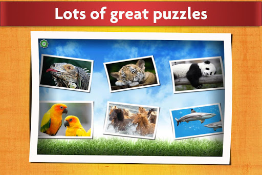 Animals Jigsaw Puzzles Game - For Kids & Adults �  screenshots 2