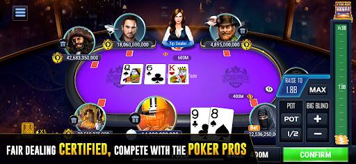 Sohoo Poker : Free Texas Holdem Online Poker Games 8.7.90 screenshots 1