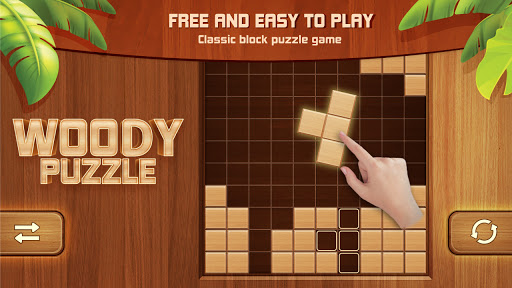Woody Block Puzzle 99 - Free Block Puzzle Game android2mod screenshots 6