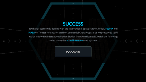 Space X Dragon To ISS Docking Simulator  screenshots 5