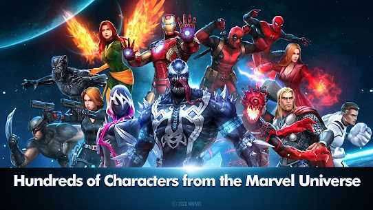 MARVEL Future Fight MOD (Unlimited Money/Gold) 1