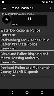 Police Scanner X Screenshot