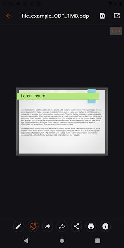 Open Office Viewer - Open Doc Format & PDF Reader apktram screenshots 6