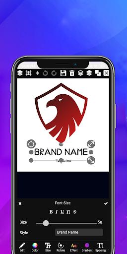 Logo maker 2021 3D logo designer, Logo Creator app 1.23 Screenshots 8