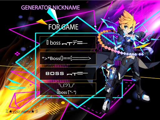 Fancy text - cool fonts, nickname generator android2mod screenshots 1