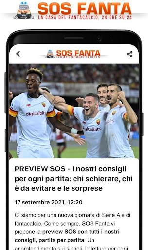 SOS Fanta - Fantacalcio apktram screenshots 2