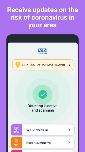 NHS COVID-19 4.3 (136) Screenshots 2