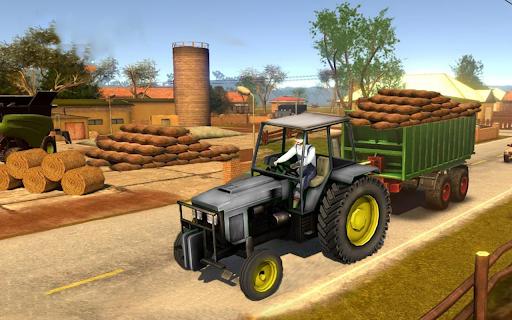 Real Farm Town Farming tractor Simulator Game 1.1.7 screenshots 16