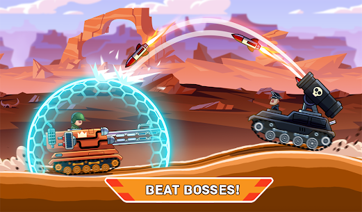 Hills of Steel MOD APK (Unlimited Coins) 7