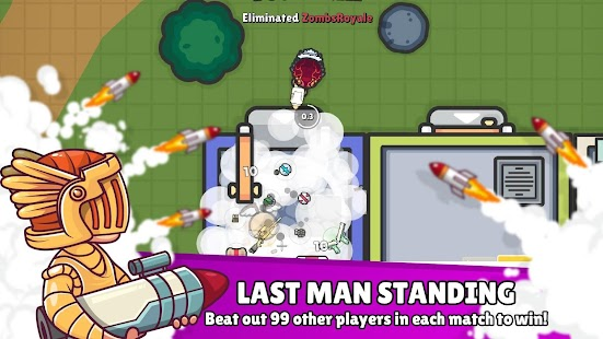 ZombsRoyale.io - 2D Battle Royale Screenshot