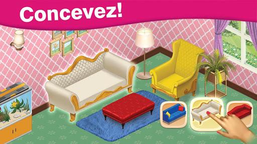 Télécharger gratuit Home Cafe : Conception du manoir - Match 3 blast APK MOD 2
