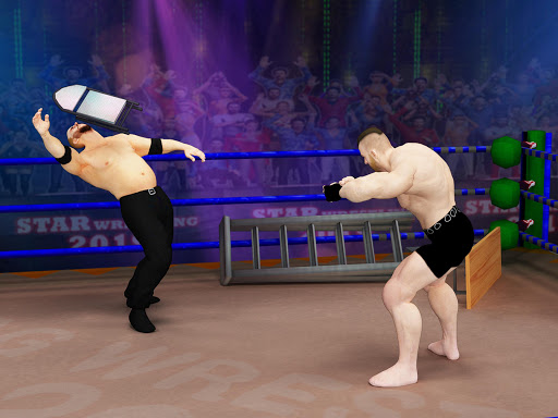Tag Team Wrestling Games: Mega Cage Ring Fighting modavailable screenshots 23
