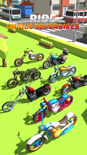 Cartoon Bike Race Game 🏍: Moto Racing Motu Game Latest screenshots 1