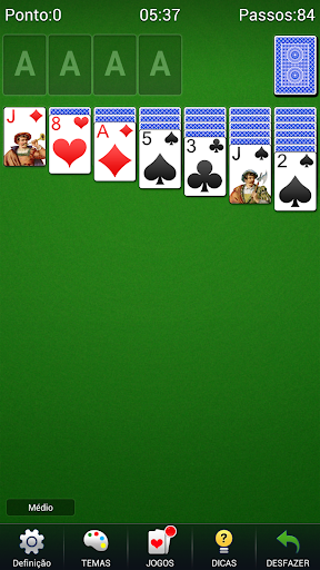 Solitário - Paciência Solitário Jogos De Cartas