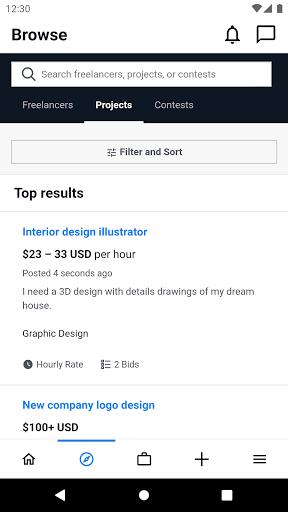 Freelancer - Hire & Find Jobs  screenshots 1