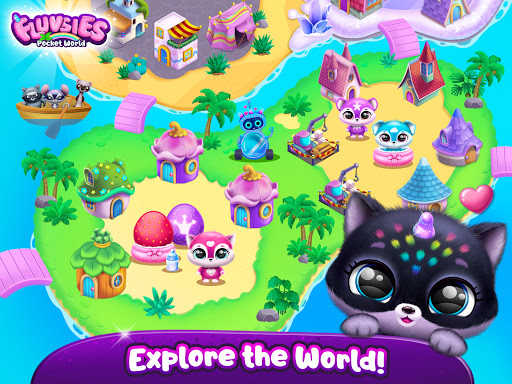 Fluvsies Pocket World - Pet Rescue & Care Story apkpoly screenshots 17