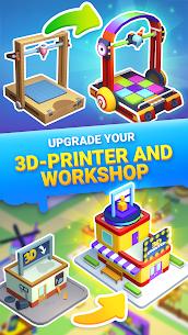 Idle 3D Printer – Garage Business Tycoon Mod Apk 1.4 (Free Shopping) 3