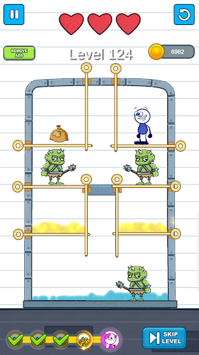 Pencil Boy - Pull The Pin, Rescue Princess 0.8 screenshots 4