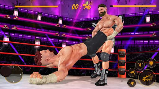 BodyBuilder Ring Fighting Club: Wrestling Games apklade screenshots 1