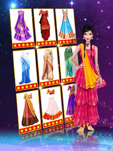 Wedding Fashion Stylist: Indian Dress up & Makeup 1.0 screenshots 4