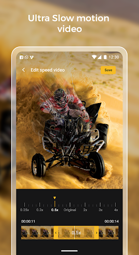 Slow motion - Speed up video - Speed motion 1.0.51 Screenshots 2