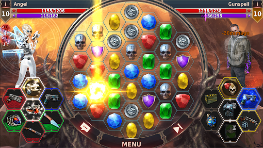 Gunspell 2 Mod Apk – Match 3 Puzzle RPG (Unlimited Open Creates) 10