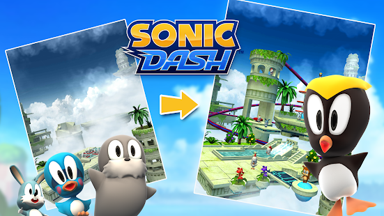 Sonic Dash - Endless Running & Racing Game Screenshot