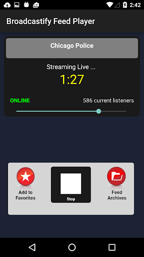 Broadcastify Police Scanner  Screenshots 2