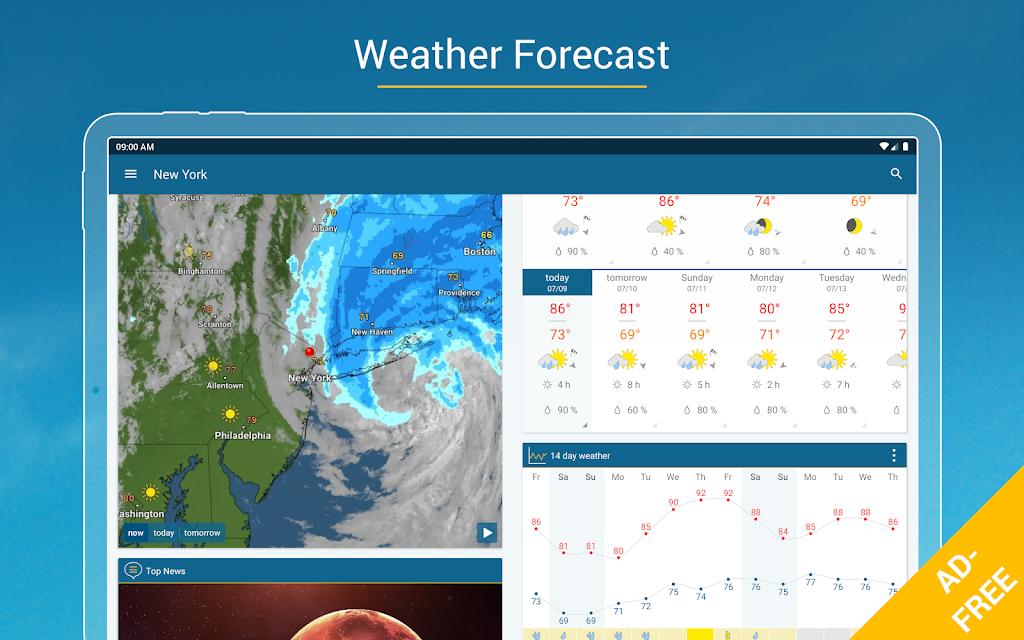 Weather & Radar USA - ad free poster 14