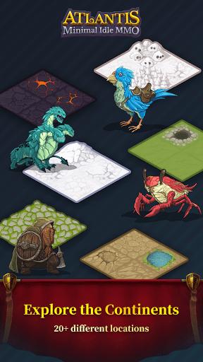 Atlantis minimal idle MMO screenshots 16