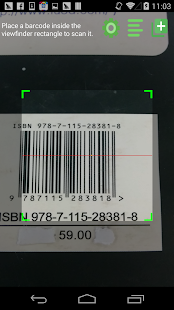 Barcode-Scanner Pro Screenshot