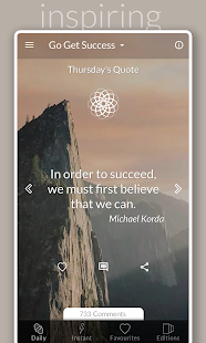 Daily Motivational Quotes | Inspiring Positive App