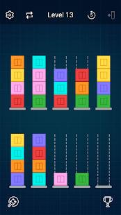 Sort Blocks - Tower Puzzle