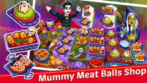 Halloween Cooking : Chef Restaurant Cooking Games apktram screenshots 2