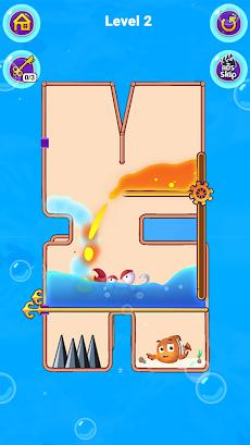 Fish Pin - Water Puzzle & Pull Pin Puzzleのおすすめ画像5