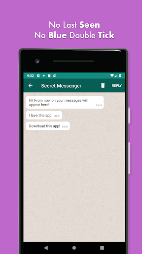 secret messenger - hide last seen screenshot 3