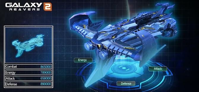 Galaxy Reavers 2 - Space RTS Battle 1.0.961 Screenshots 9