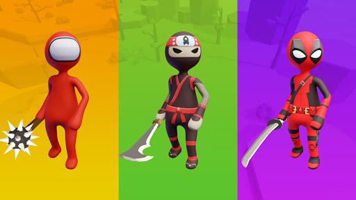 Stickman Smashers -  Clash 3D Impostor io games 1.0.5 screenshots 15