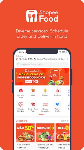ShopeeFood - Food Delivery apktram screenshots 1