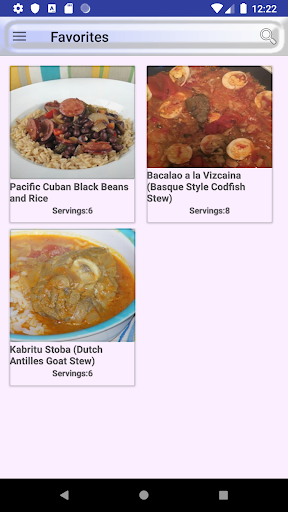 ufeffAmerica and Caribbean Food Recipes 2.0 screenshots 6