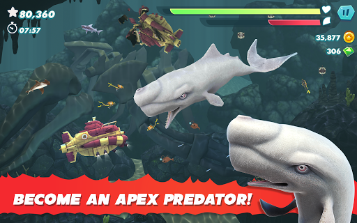 Hungry Shark Evolution - Offline survival game  screenshots 12