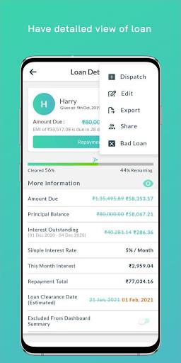 Free Bird - Simple Debt Tracker Apkfinish screenshots 2