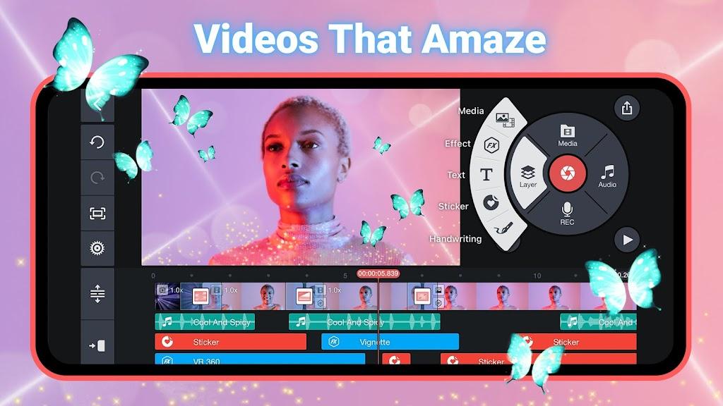 KineMaster - Video Editor poster 0
