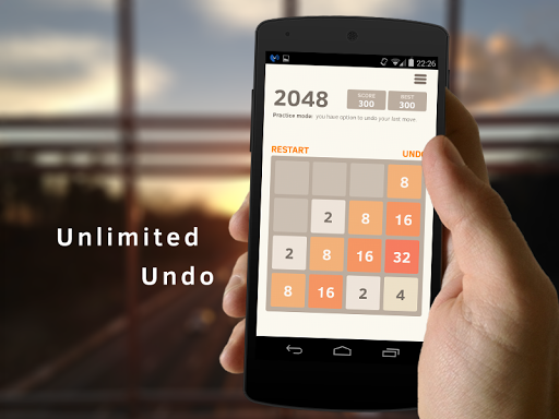 2048 Number puzzle game screenshots 1