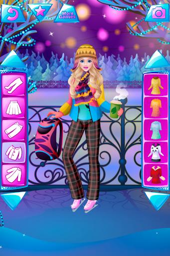 Winter Dress Up Game For Girls  screenshots 1