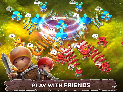 Mushroom Wars 2: Real-time war strategy ud83cudf44 Defense  screenshots 7